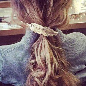 Anthropologie Hair Clip – Silver/Blk Barrette